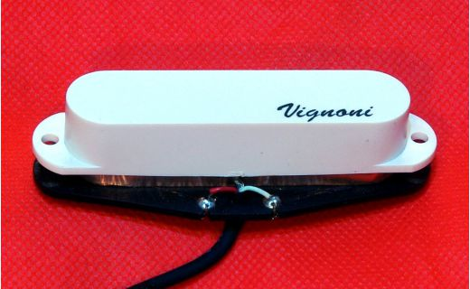 Pickup Single Coil Vignoni HARMONY bianco (manico)