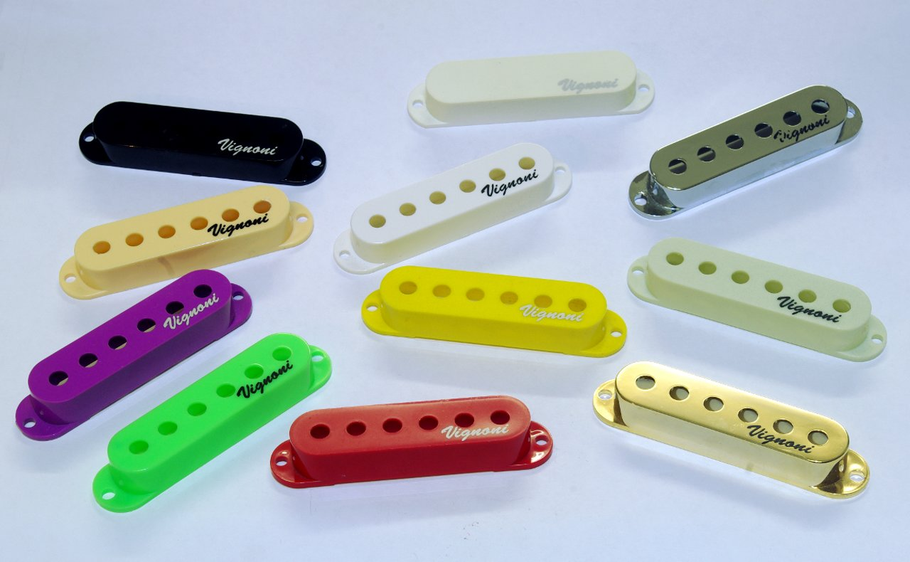 coloured single coils guitar pickups