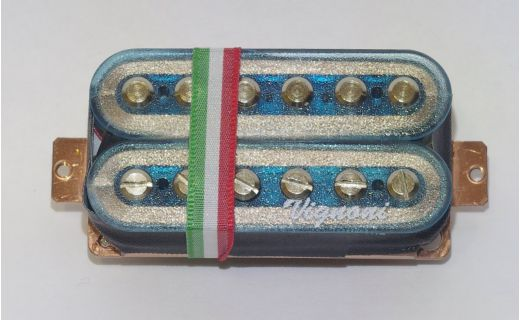 NORDIC LIGHT Humbucker blue transparent (bridge)