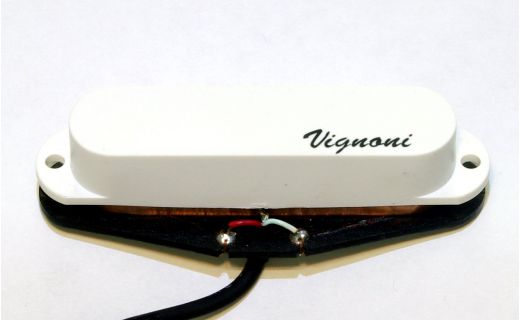 Single Coil pickup Vignoni HARMONY white (bridge)